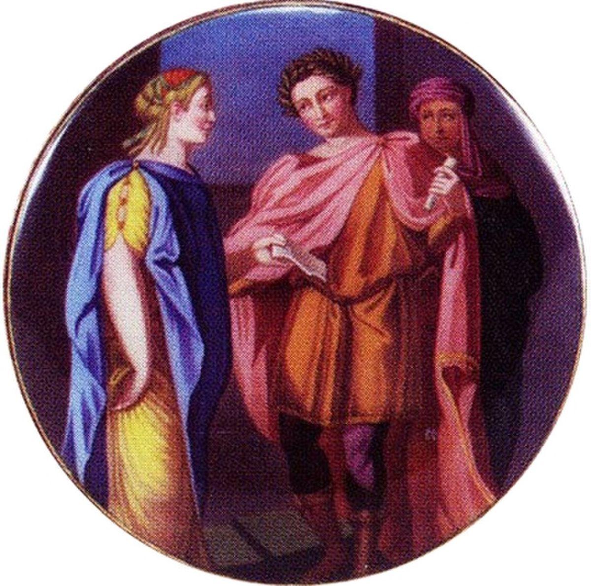 Tytus i Berenike na malunku