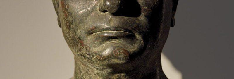 Bust showing actor Caius Norbanus Sorex