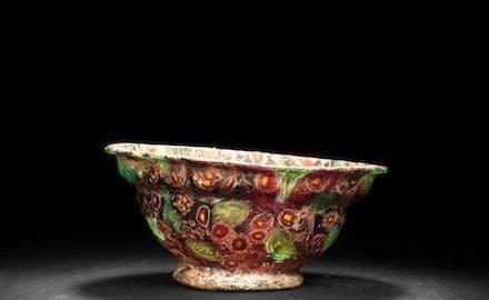 Roman colored cup