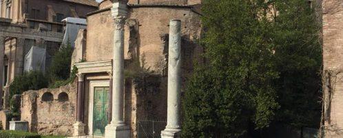 Temple of Romulus in Rome