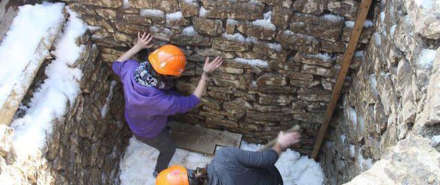Odkrycie rzymskiej piwnicy