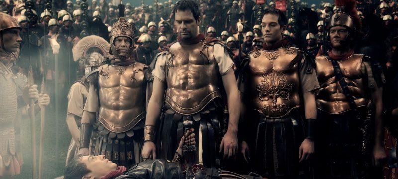 """Scena z serialu """"The Destiny of Rome – Wojny imperiów""""."""