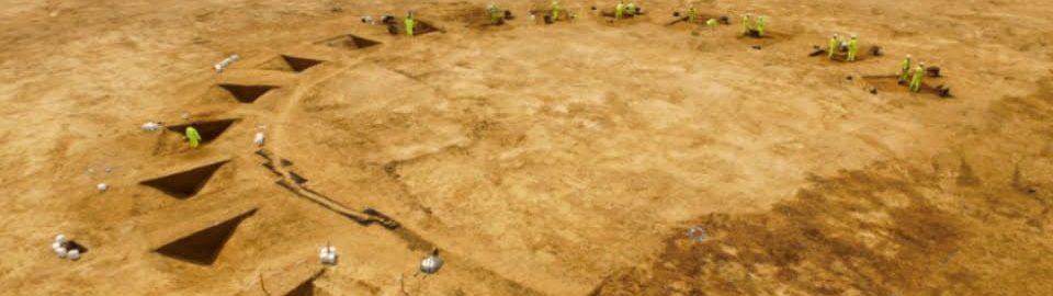 Archeolodzy odkryli rzymskie i średniowieczne ośrodki w Anglii
