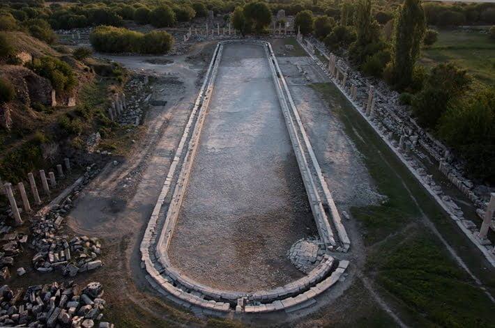 Południowa agora w Afrodyzji