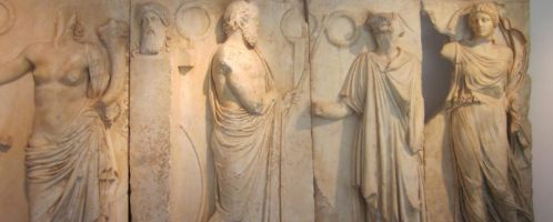 Relief showing Gaius Julius Zoilos