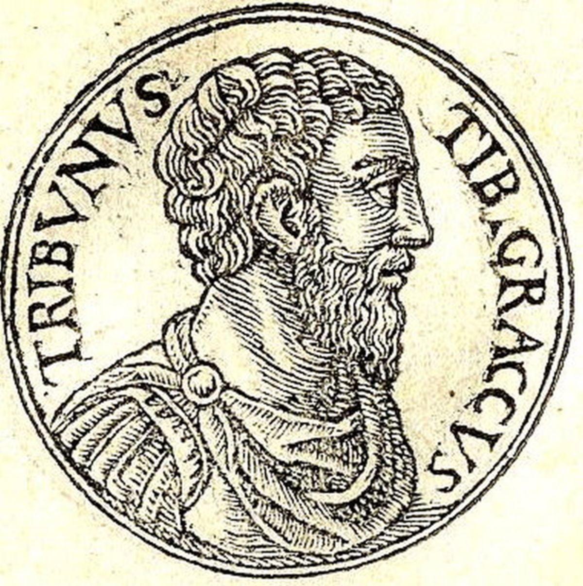 Tyberiusz Semproniusz Grakchus na rycinie