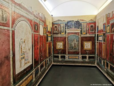 Frescoes from the so-called Agrippa's Villa in Trastevere. Currently in the Palazzo Massimo Alle Terme Museum