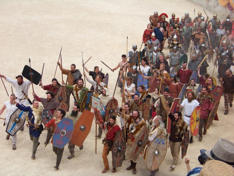 Barbarzyńcy na arenie