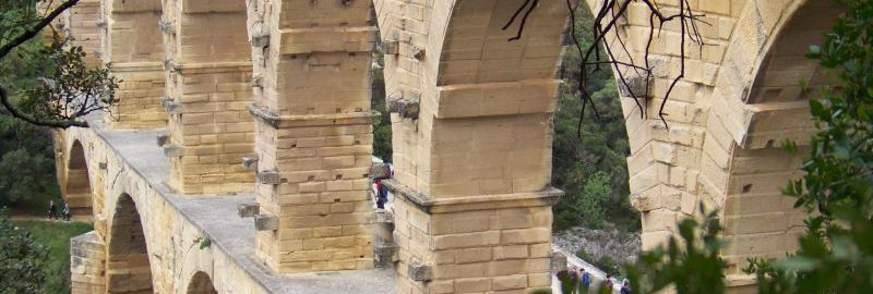 Akwedukt w Pont-du-Gard