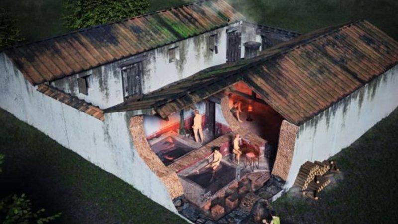 "Roman ""sanatorium"" in Collado Mediano"