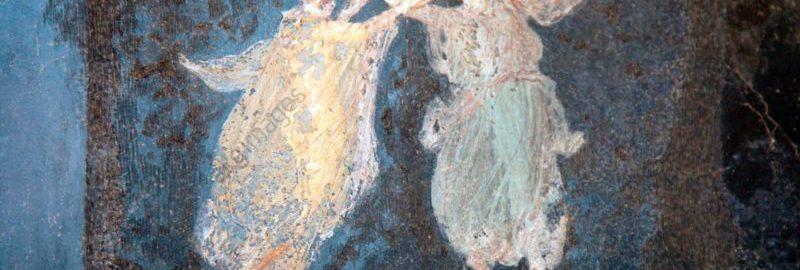 Fresk rzymski ukazujący taniec