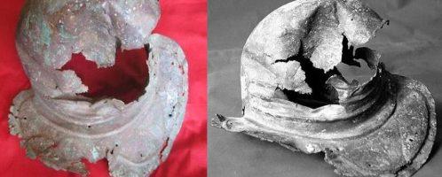 The only Roman helmet found in Georgia