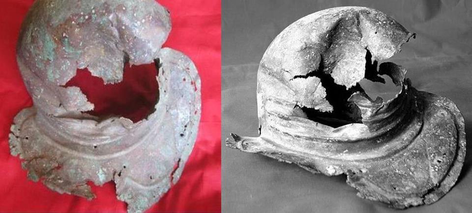 Jedyny hełm rzymski znaleziony na terenach Gruzji