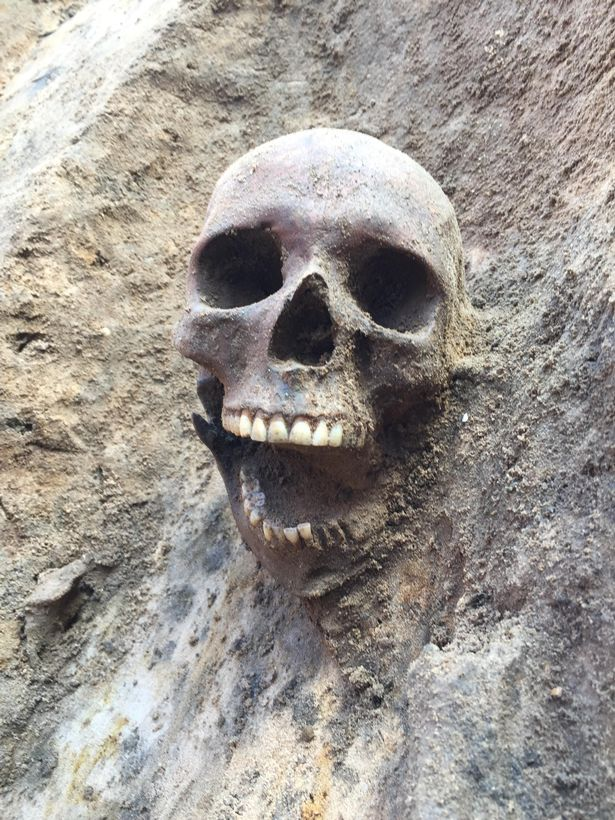 Archaeologists found 3 skeletons from Roman times in Lincoln