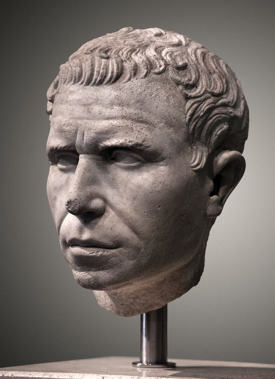 Głowa Rzymianina w dobrym stanie