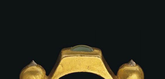 Śliczny rzymski pierścionek