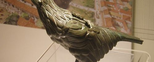 Roman eagle from Silchester