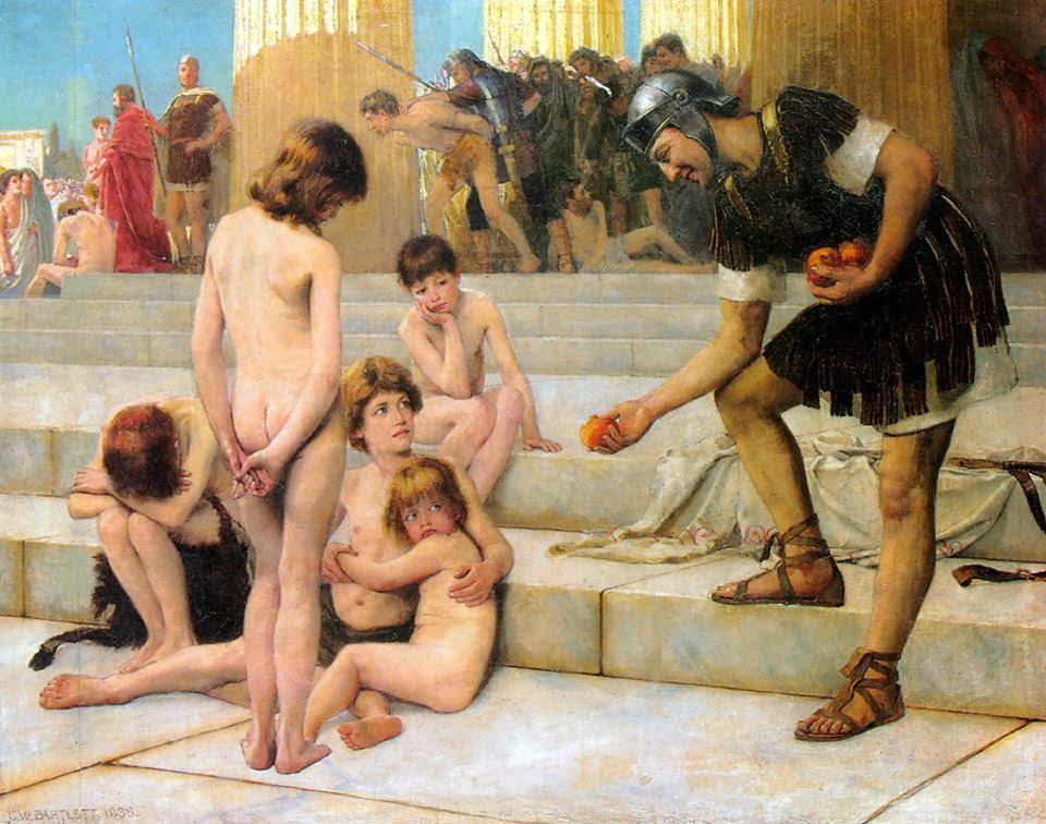 Charles William Bartlett, Captives in Rome