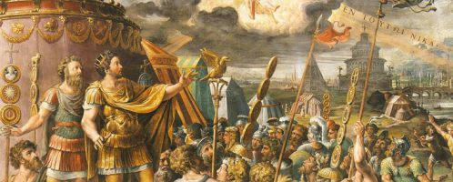 Objawienie się krzyża Konstantynowi, Paul Rubens