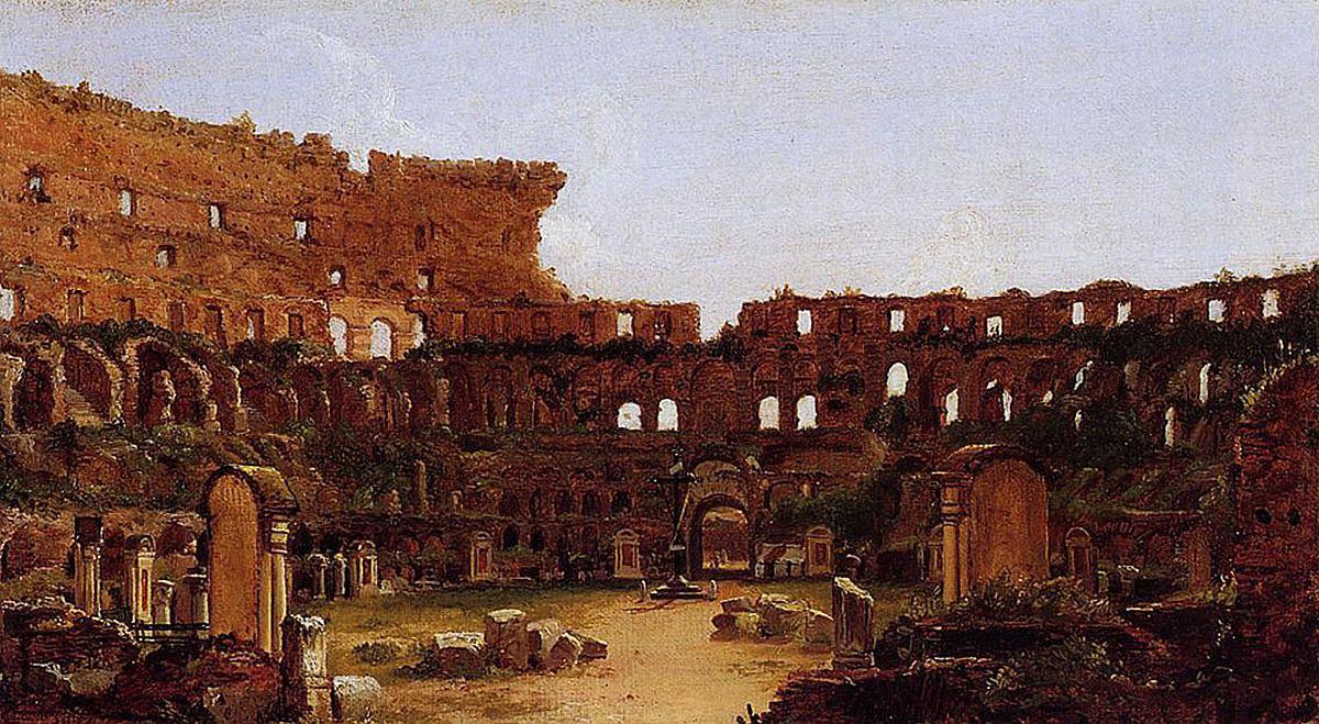 Thomas Cole, Wnętrze Koloseum