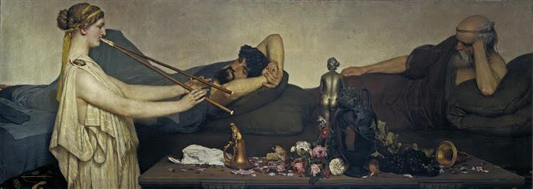Lawrence Alma-Tadema, Sjesta