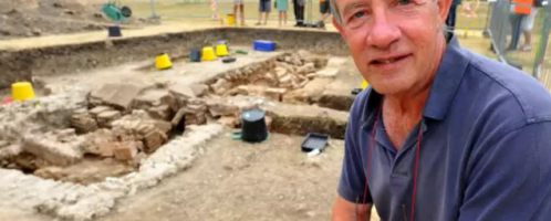 A large Roman bathhouse was found in Chichester
