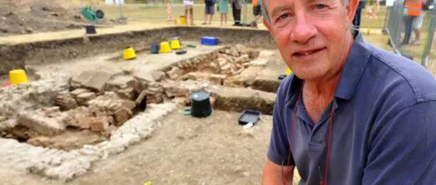 W Chichester natrafiono na dużą rzymską łaźnię