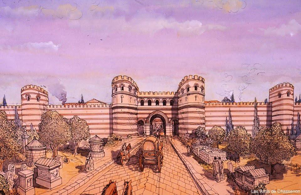 Nimes lub Arles w Galii
