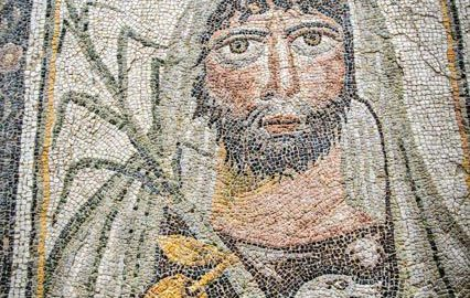 Fragment of the so-called Four Seasons Mosaics