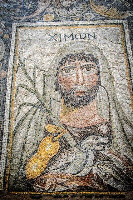 Fragment tzw. Mozaiki Czterech Sezonów