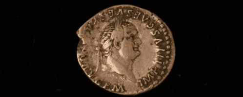 Moneta Wespazjana z Yorkshire, znaleziona w 2015 roku