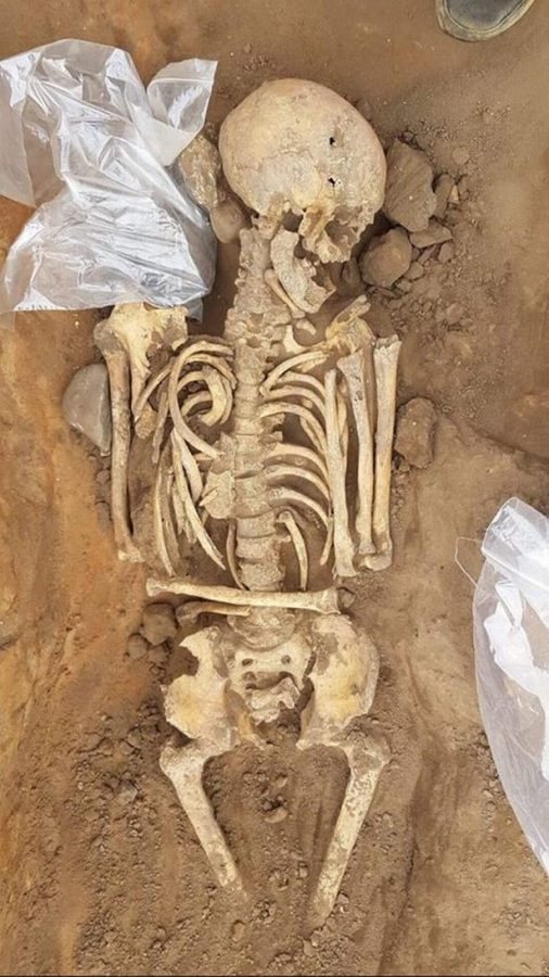 In northern England large number of human remains from Roman times were found