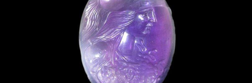 Cudowna gemma ukazująca Minerwę