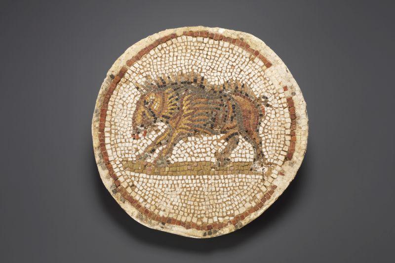Rzymska mozaika ukazująca dzika