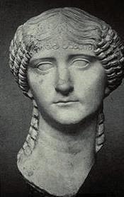 Domniemana głowa przedstawiająca Lollię Paulinę