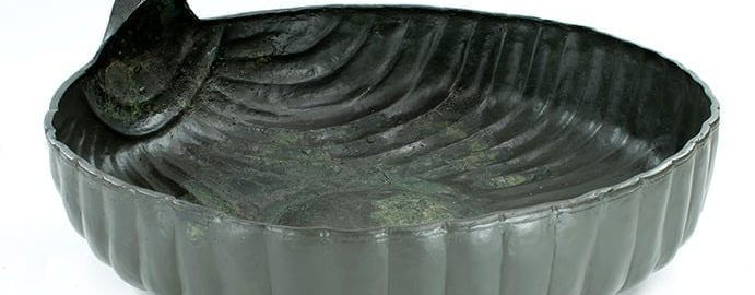 Scientists have discovered a Roman washing bowl in the Netherlands