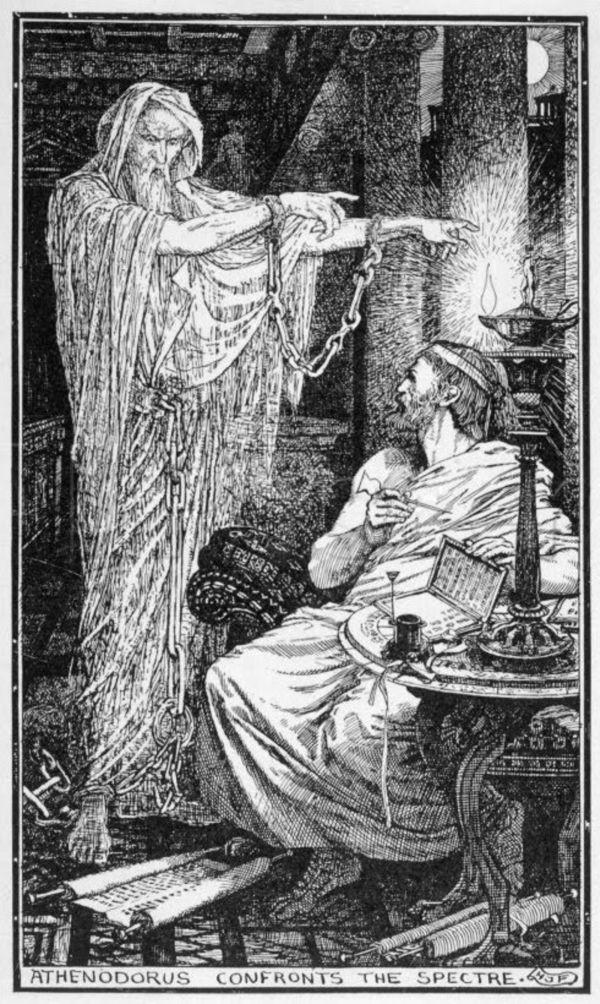 Rzymska opowieść o duchu z listów Pliniusza Młodszego
