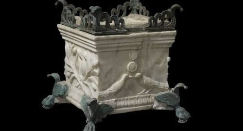 A miniature Roman altar
