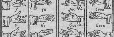 Counting on fingers in ancient Rome