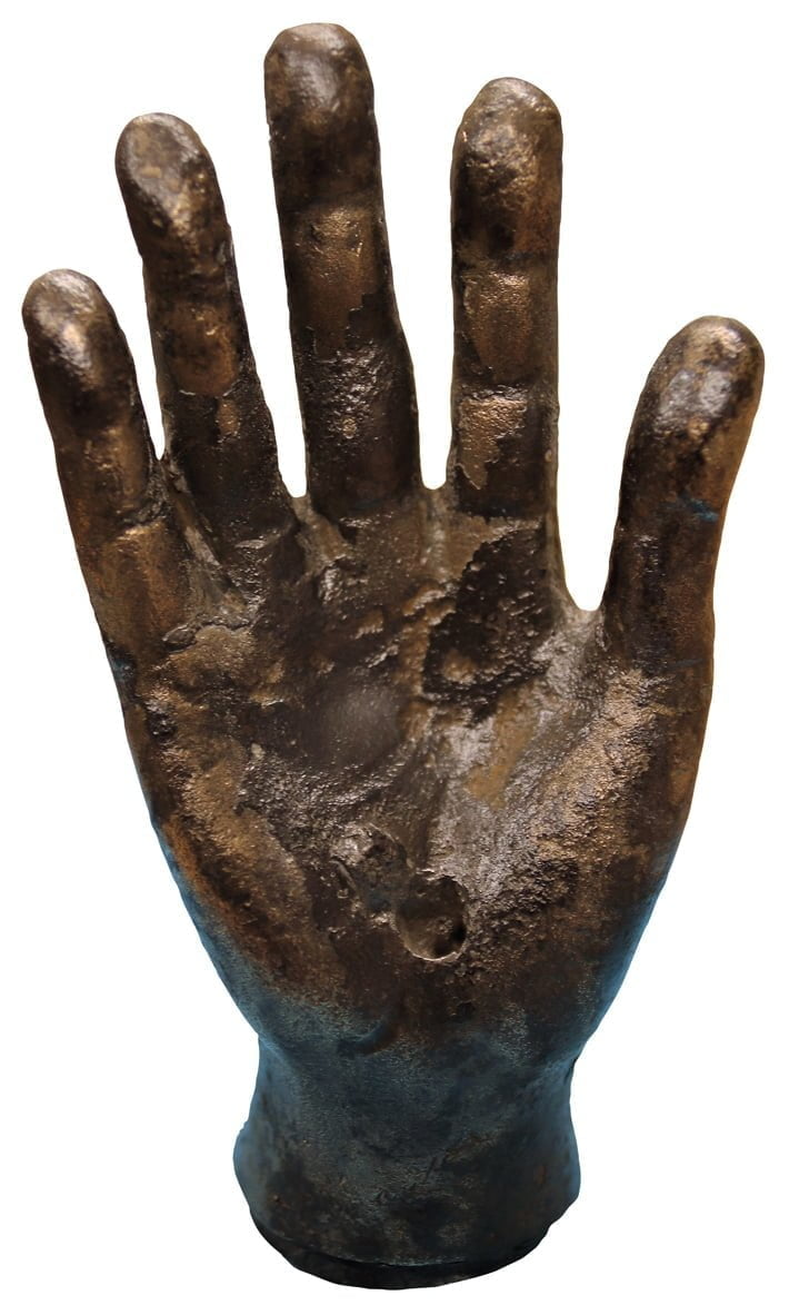 """Discovered sculpture of Roman hand is """"hand of a god"""""""
