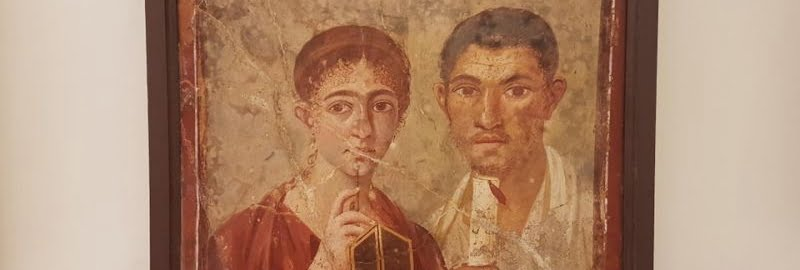 Roman portrait of a baker and wife