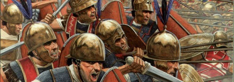 Roman soldiers in the Second Punic War