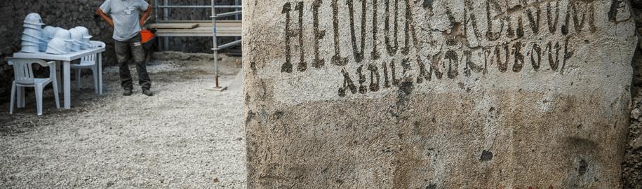 Odkryto rzymskie hasła wyborcze w Pompejach
