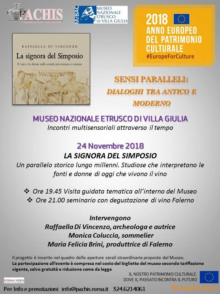 24 listopada w Narodowym Muzeum Etruskim seminarium na temat wina