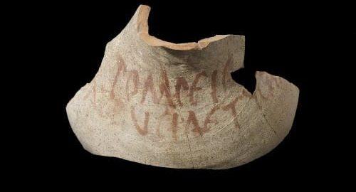 Fragment amfory z Pompejów