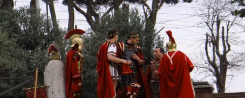 In Rome, a fine for dressing up as a centurion