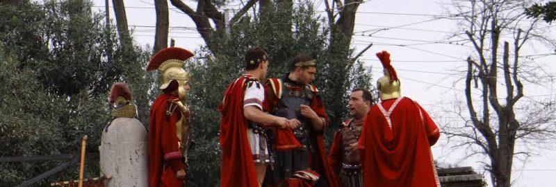W Rzymie grzywna za przebranie się za centuriona
