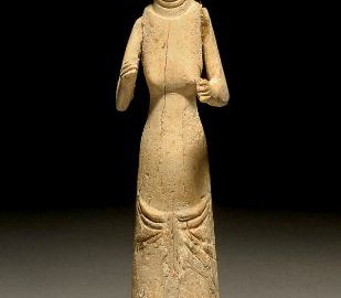 Rzymska lalka z kości