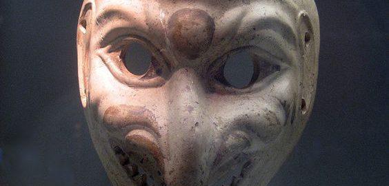 Roman theater mask