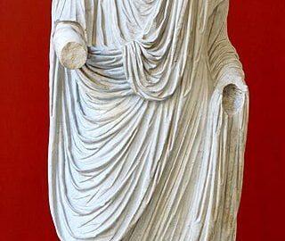 Oktawian August jako Pontifex maximus